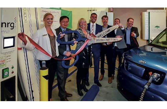 Shore Hotel unveiled its state-of-the-art energy storage system and new fast electric vehicle (EV) charging facilities on Monday.
