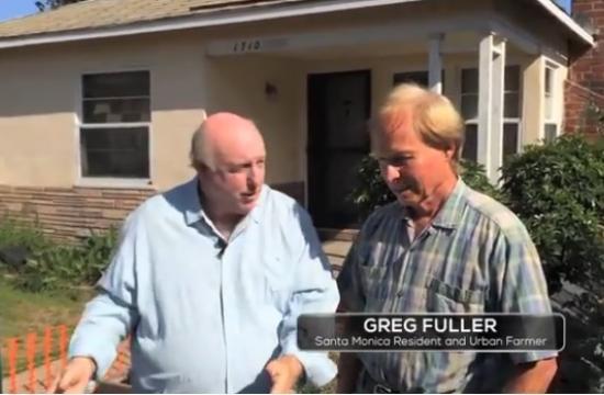 Brock on Your Block host Phil Brock talks to Santa Monica Urban Gardener Greg Fuller.