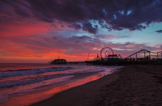 The City of Santa Monica is a winner of its 2015 Best Restored Beach Award.