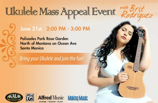 One of the Make Music LA events in Santa Monica this Sunday.