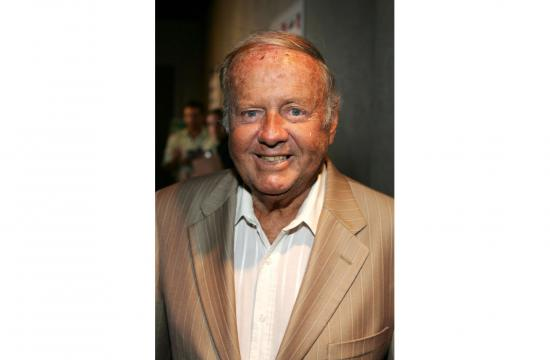 Actor Dick Van Patten arrives at the premiere for 'Boynton Beach Club' held at the Pacific Design Centre Silver Screen Theatre on August 1