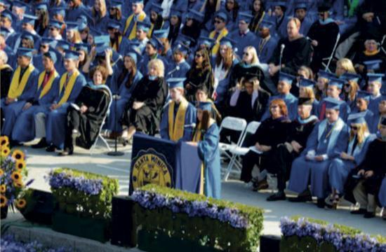 Santa Monica High School celebrated the graduation of its 678 seniors on June 4.