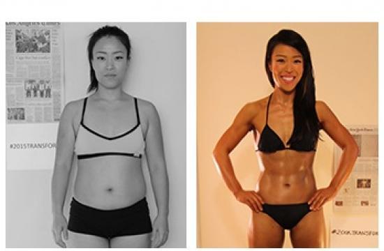 Nina Mam of Santa Monica was announced the female grand prize winner in the Bodybuilding.com Transformation Challenge.