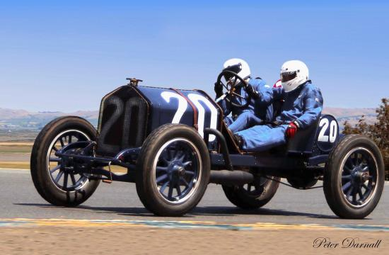 Locals will have a chance to view an original 1911 Santa Monica Road Race car owned by Brian Blain on Friday