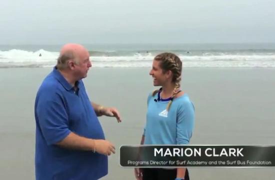 Brock on Your Block host Phil Brock speaks with Marion Clark