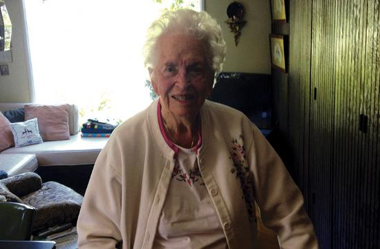 Pauline Alchian will celebrate her 100th birthday on July 4.