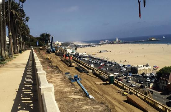 Since construction began on the upgrade of the California Incline