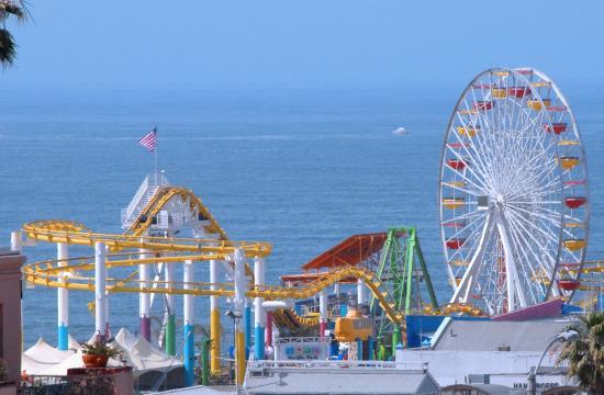 Yahoo! Travel has selected Pacific Park as 'Best Amusement Park' in California.