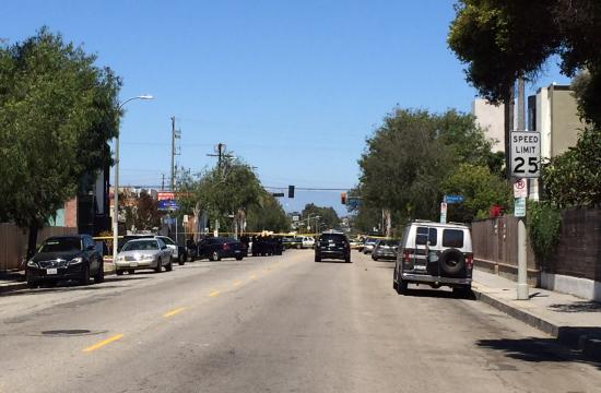Los Angeles police have confirmed that an officer-involved shooting has occurred near Sixth and Rose in the Venice area.