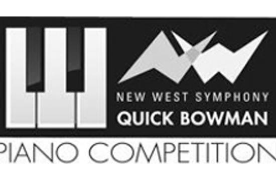 Apply now to the New West Symphony Quick Bowman Piano Competition.