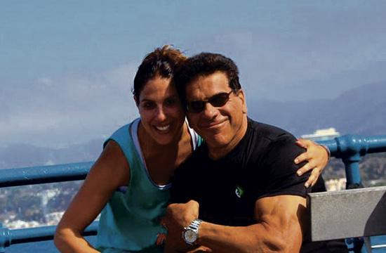 Free outdoor workouts and health lessons return to Santa Monica Pier on Saturday for four weeks thanks to Lou Ferrigno and his daughter Shanna.