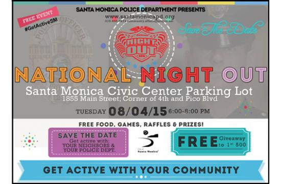 National Night Out is an opportunity for the Santa Monica Police Department and the community to meet and mingle.
