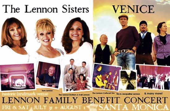 The Lennon Family Return To Santa Monica.