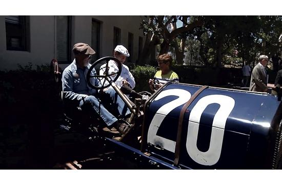 Santa Monica Rotarians got the chance to re-live the historic 1911 Santa Monica Road Races at last Friday's meeting.