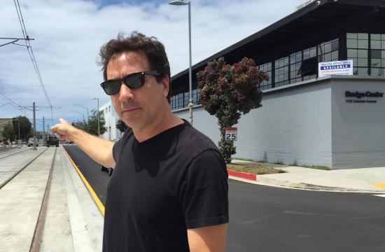 Santa Monica business owner Rodney Liber