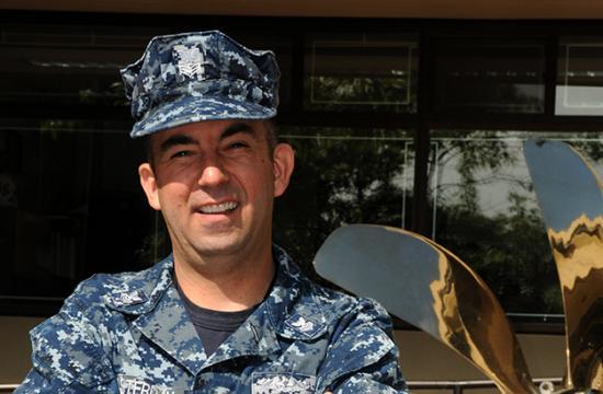 Petty Officer 1st Class Daniel Osterday
