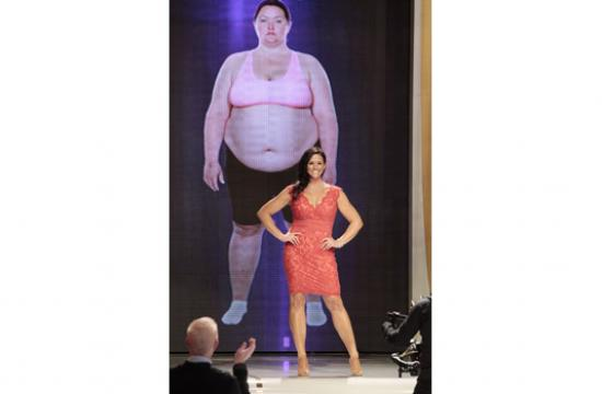 Santa Monica resident Rachel Paul had her yearlong weight loss journey chronicled on the ABC series 'Extreme Weight Loss' on Tuesday night.