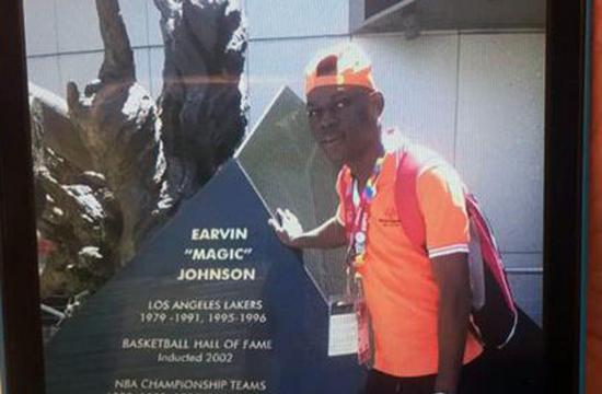 Missing Special Olympics athlete Shion Isimel of Cote d'Ivoire.