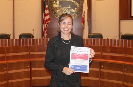 Santa Monica City Clerk Sarah Gorman.