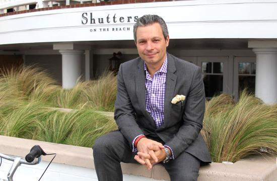 Shutters on the Beach General Manager Gregory Day will leave his job and step down as Santa Monica Chamber of Commerce board chairman after accepting a position with Mani Brothers Real Estate.