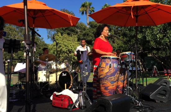 Santa Monica Cultural Affairs presents the 10th annual Jazz on the Lawn summer concert series at Stewart Street Park every Sunday from 5 to 7 pm.