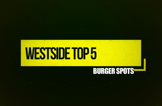On This episode of Westside Top 5 Host Atlas Novack gives us his top 5 Burger Spots.