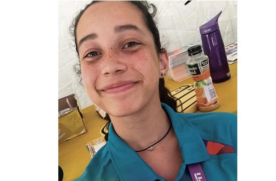 Santa Monica Girl Scout Madison Seifer has created a website called Bridging Our Circle of Friends that focuses on bringing together those with special needs with other members of the community. She recently helped out at the Special Olympics.