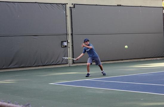 The 86th annual Santa Monica Junior Open began at the tennis courts at Christine Emerson Reed Park at Wilshire and Seventh St. on Monday. The tournament concludes today.