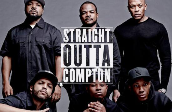 'Straight Outta Compton' stays on top of the North American box office.