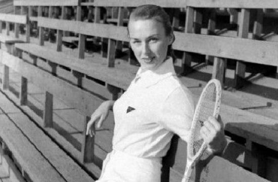 Wimbledon tightened its dress code because of Gussy Moran. She is remembered with the renaming of a tennis court at Reed Park in Santa Monica.