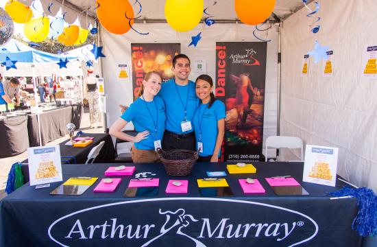 Arthur Murray Dance Center Santa Monica is one of the local businesses taking part in the Wellbeing Buy Local Festival in Santa Monica this Saturday.