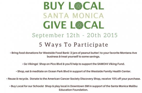For the 2nd Annual Buy Local