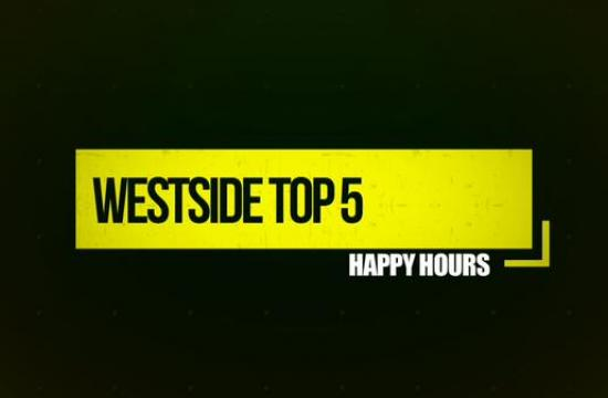 On this episode of Westside Top 5 host Atlas Novack gives us his top five happy hours on the Westside of Los Angeles.