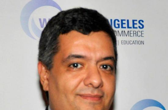 West Los Angeles Chamber of Commerce President Roozbeh Farahanipour.
