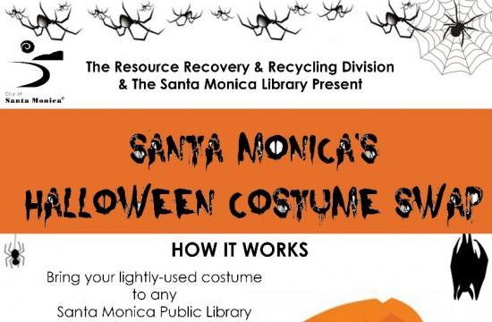 The City of Santa Monica's Annual Costume Swap.