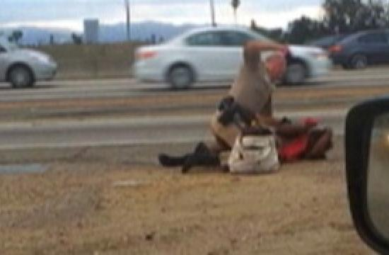 Marlene Pinnock was captured on cellphone video being beaten by a California Highway Patrol officer on the side of the Santa Monica (10) Freeway and reached a $1.5 million settlement with the department.