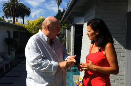 Phil meets with Abeer Sweis