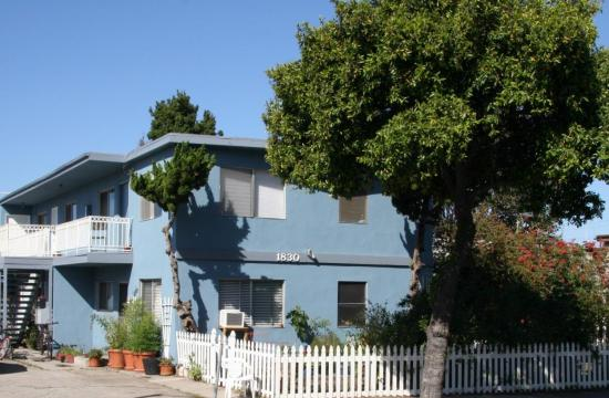 The property at 1830 12th Street in Santa Monica.