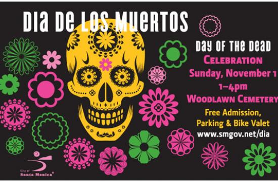 Dias de los Muertos events in Santa Monica running until November 7