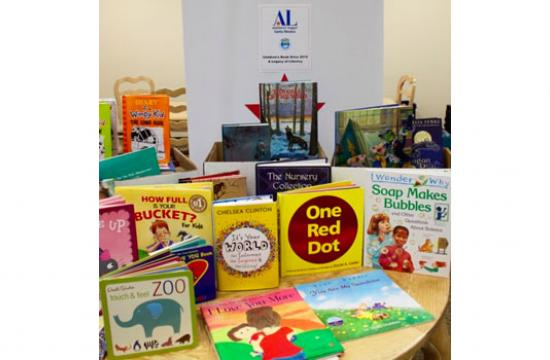 Assistance League of Santa Monica collected 160 books which will be distributed to children in local schools.