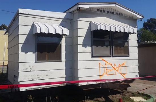 The former Village Trailer Park site at 2930 Colorado Ave. in Santa Monica resembles more of a ghost town as the site's pending development looms.