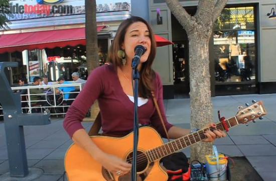 Aspiring musician Chelsea Williams is a regular performer on the Third Street Promenade - check out her story and her original song 'Hear The Thunder.'