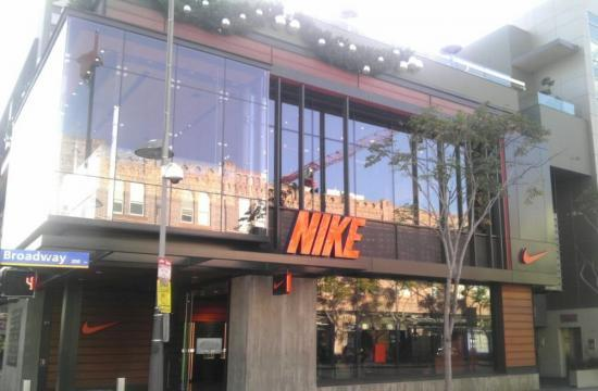 Santa Monica police arrested a L.A. man on an embezzlement charge at his workplace at the Nike store.