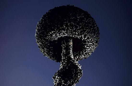 Santa Monica's Chain Reaction sculpture
