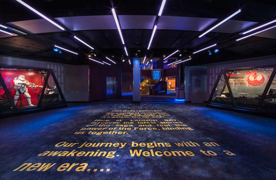 This new area will offer opportunities to visit with favorite Star Wars characters