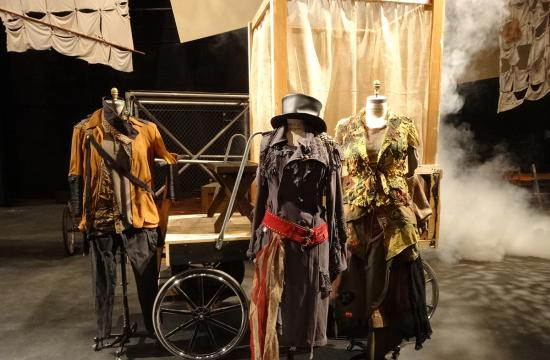 Costumes and sets being prepared for the production of 'M. Courage' at Santa Monica College Theatre Arts Main Stage Dec. 4-13.