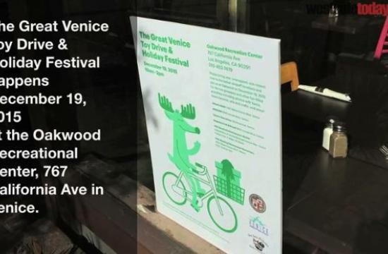 The Great Venice Toy Drive