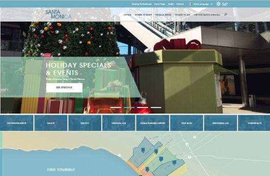 Santamonica.com has been honored with two website awards.
