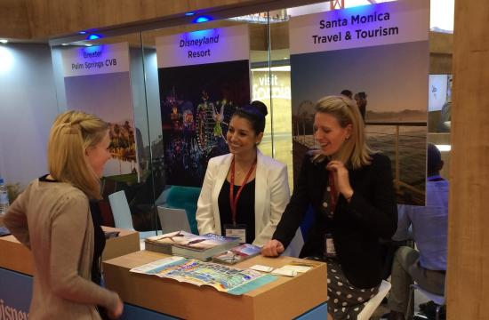 SMTT traveled to the United Kingdom to exhibit at the 2015 World Travel Market in partnership with Visit California.