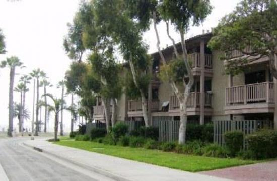 The Neilson Villa affordable housing community located at 3100 Neilson Way in Santa Monica.